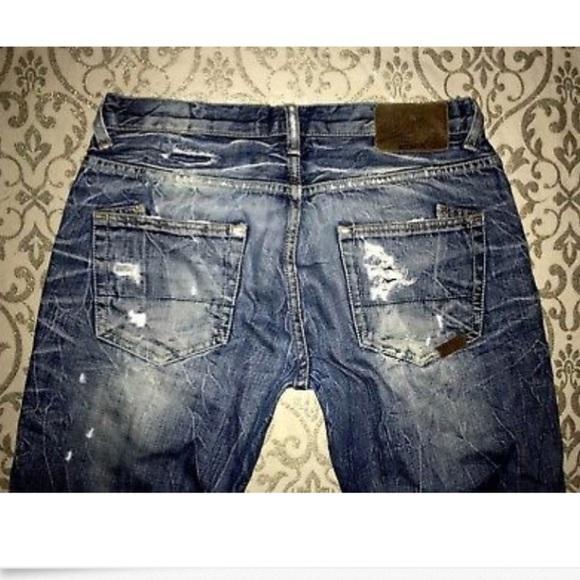 Men's PRPS Low Rise Barracuda Straight Leg Jeans